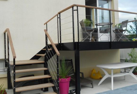 terrasse et escalier ext rieurs chartres de bretagne suire sarl. Black Bedroom Furniture Sets. Home Design Ideas