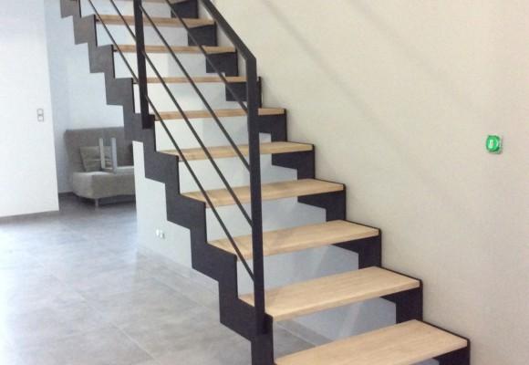 Escalier, main courante, passerelle - Chateaugiron - Suire SARL
