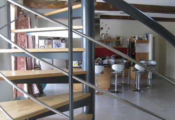 Escalier hélicoïdal – Nouvoitou