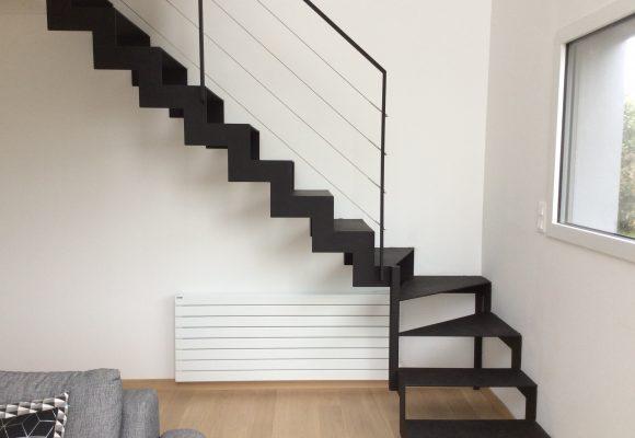 Escalier crémaillère – Chateaugiron